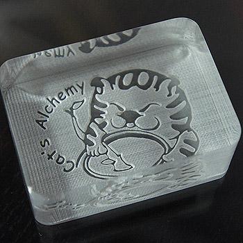 雷射雕刻壓克力-皂章